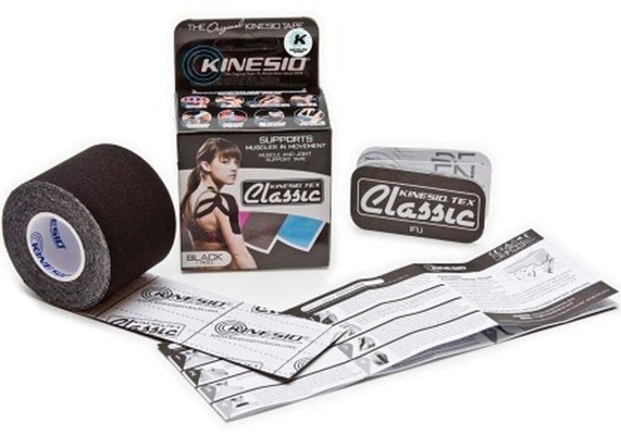 Kinesio Tex Classic Tape Standard Roll, Black, , large image number 3