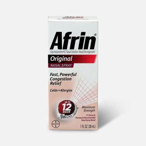 Afrin Original Nasal Spray, 1.0 oz