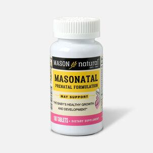 Mason Natural MasNatal Multivitamin/Multimineral Supplement, 100 tablets