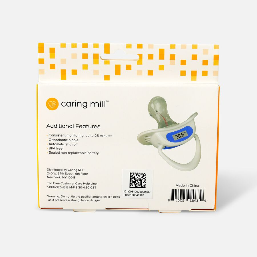 Caring Mill® Digital Pacifier Thermometer, , large image number 1