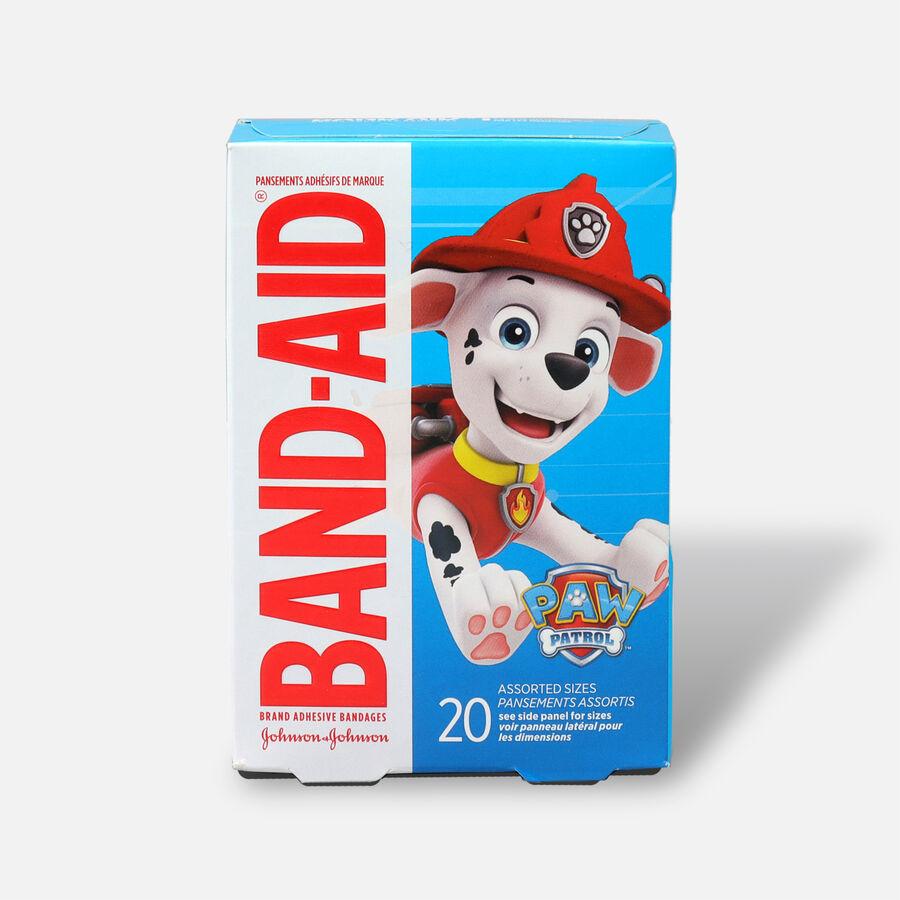 Band-Aid Adhesive Bandages, Nickelodeon Paw Patrol, Assorted Sizes, 20 ct., , large image number 0