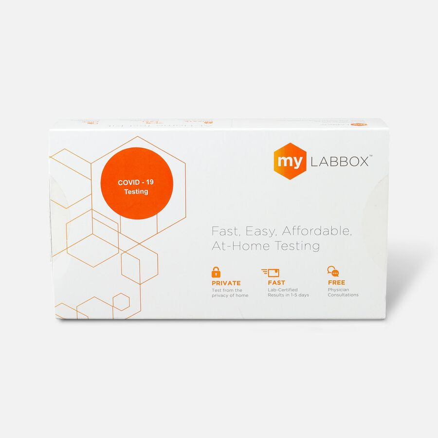 myLAB Box COVID-19 At-Home Viral Detection Test, , large image number 0