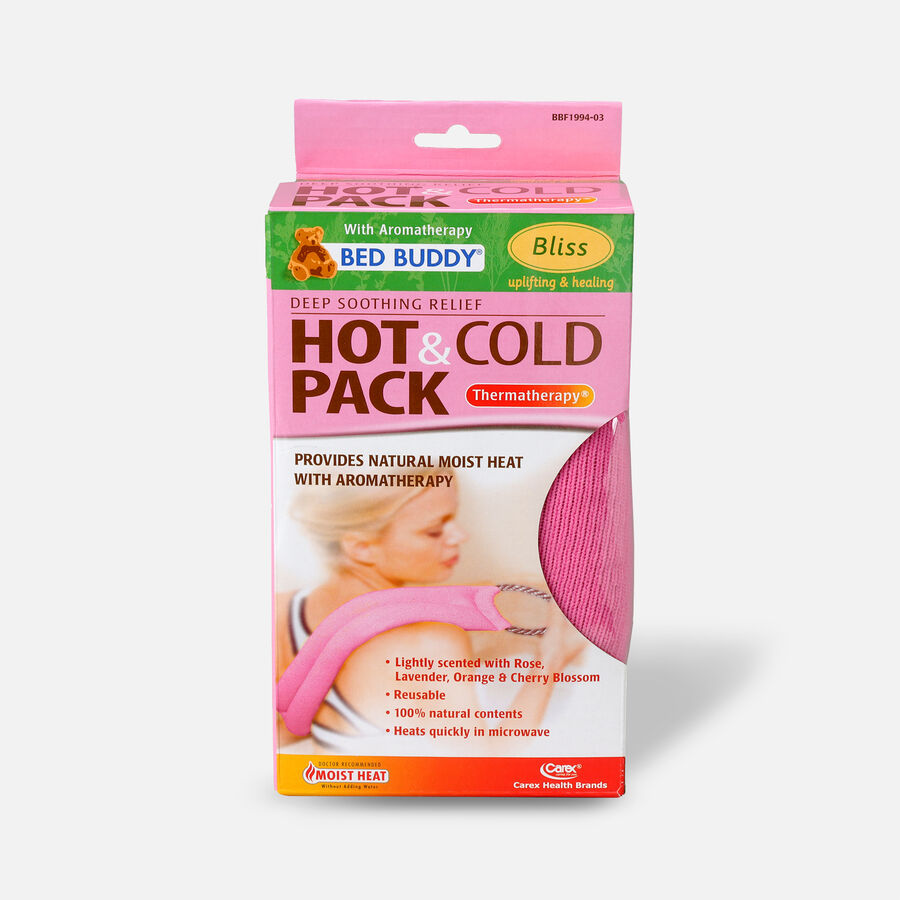 Bed Buddy Hot/Cold Wrap Aromatherapy Pink, Pink, large image number 0