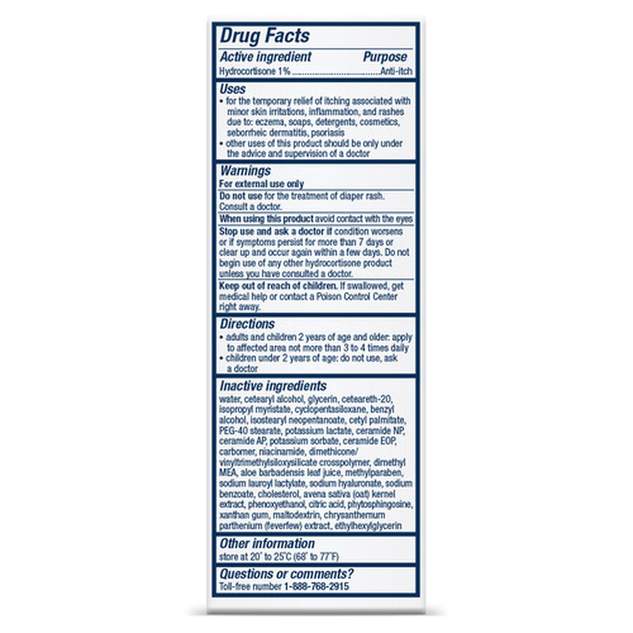 CeraVe 1% Hydrocortisone Cream, 1 oz, , large image number 2