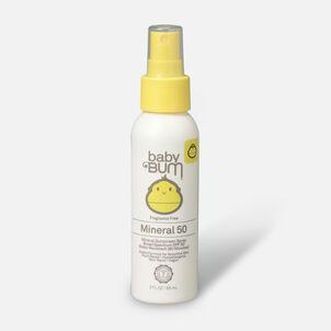 Baby Bum Mineral SPF 50 Sunscreen Spray-Fragrance Free, 3oz.