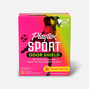 Playtex Sport Odor Shield Regular Tampons