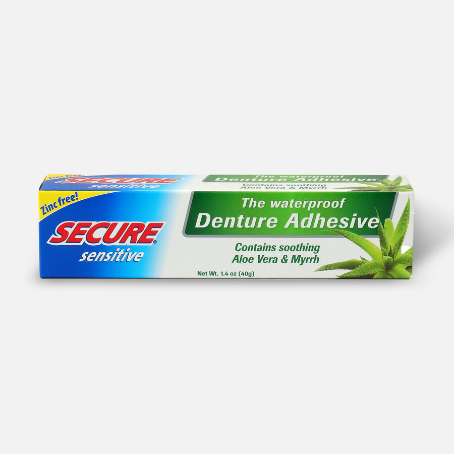 SECURE Denture Adhesive Sensitive 1.4oz, , large image number 0