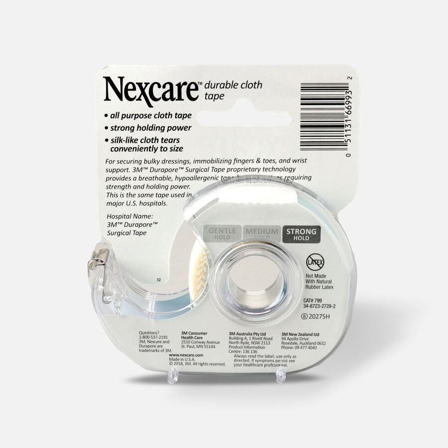 """Nexcare First-Aid Durable Cloth Tape 3/4"""" x 6yds - 1ct, , large image number 1"""