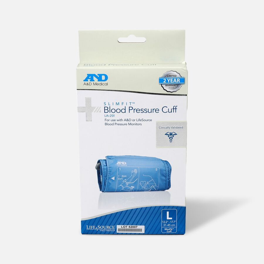 """A&D Replacement Slim Fit Blood Pressure Cuff, 12.2""""-17.7"""", , large image number 0"""