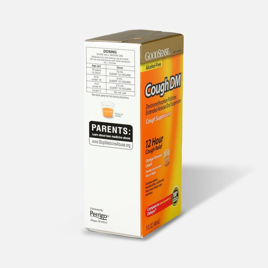 GoodSense® Cough DM 12 Hr Cough Relief Orange (Alcohol Free), 5 fl oz, , large image number 3