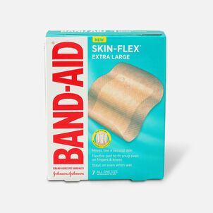 Band-Aid Skin-Flex Adhesive Bandages, All One Size, 7 ct