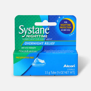 Systane Nightime Eye Ointment, 1/8 oz