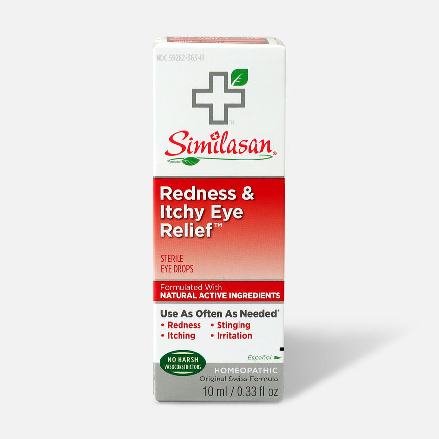 Similasan Redness & Itchy Eye Relief, 0.33 fl. oz., , large image number 0