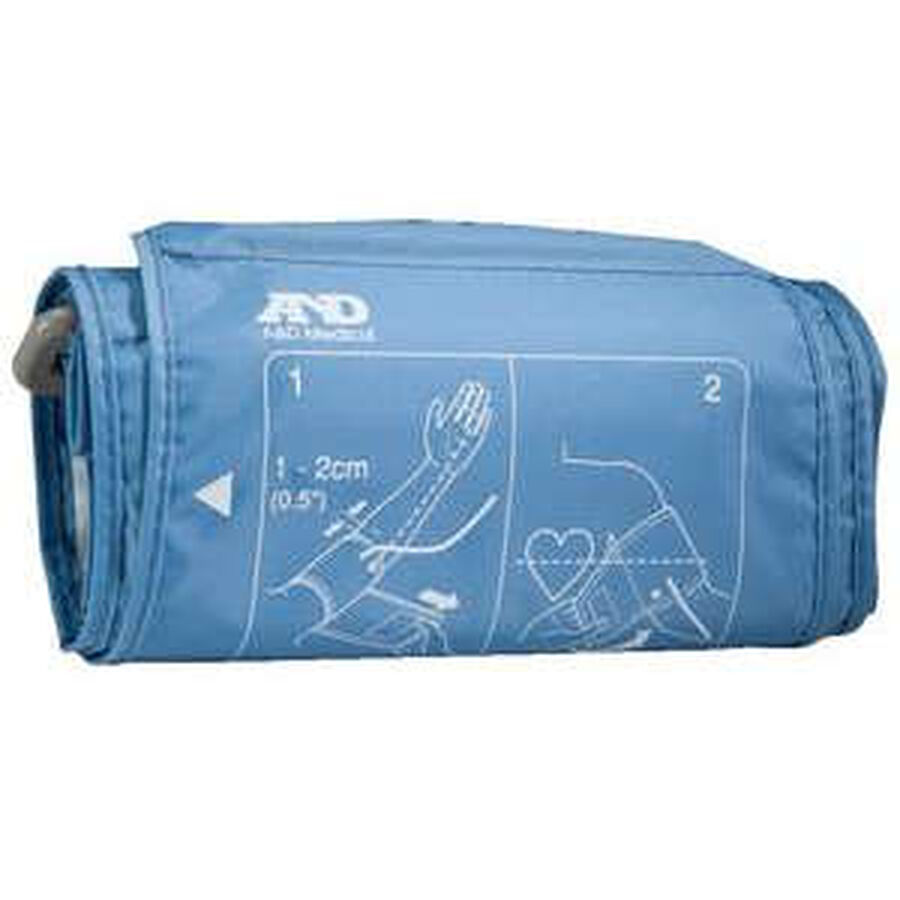 """A&D Replacement Slim Fit Blood Pressure Cuff, 12.2""""-17.7"""", , large image number 2"""