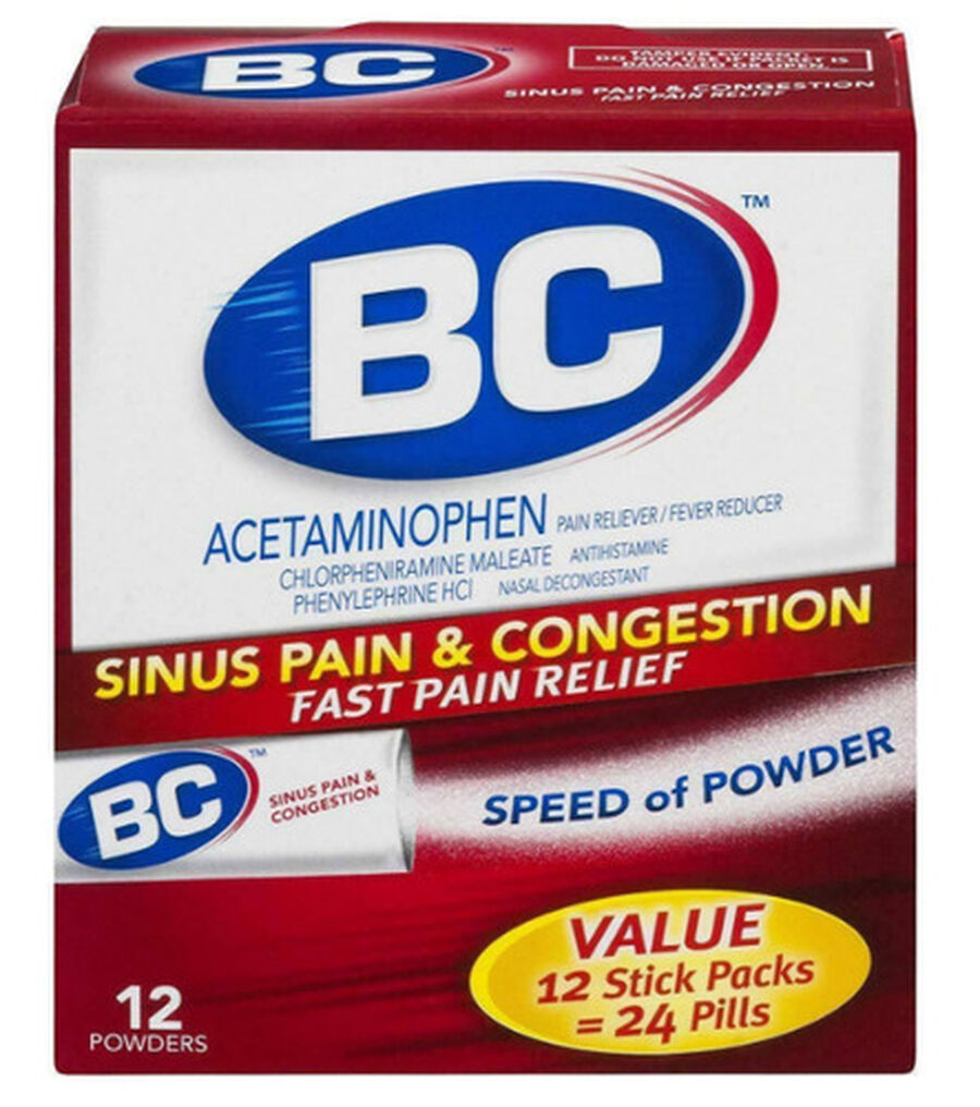 BC Powder, Max Strength Sinus Congestion, 12ct., , large image number 0