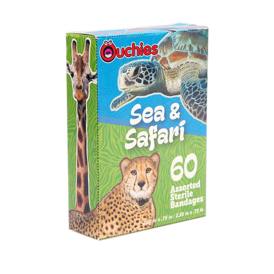 Ouchies Sea and Safari Bandages, 60ct , , large image number 2