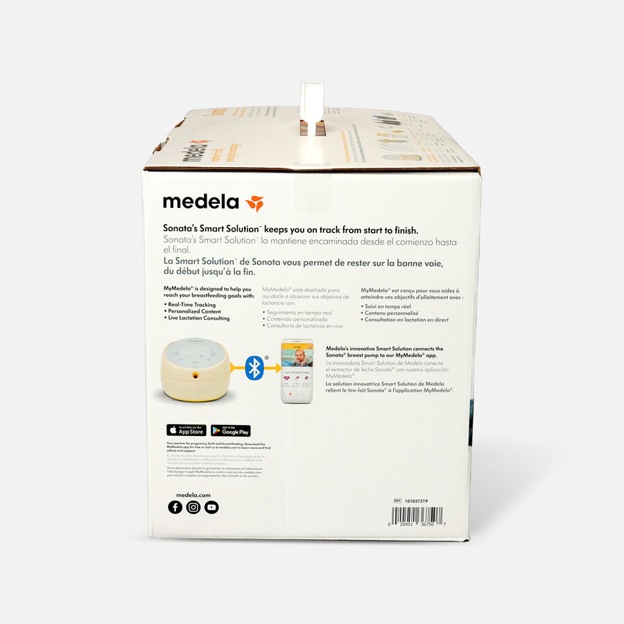 Medela Sonata Smart Breast Pump with Breast Shields, , large image number 4