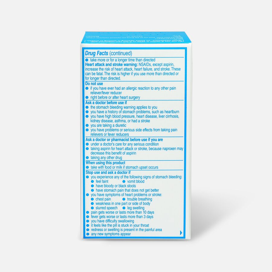 Aleve Back & Muscle Pain, 50ct, , large image number 1