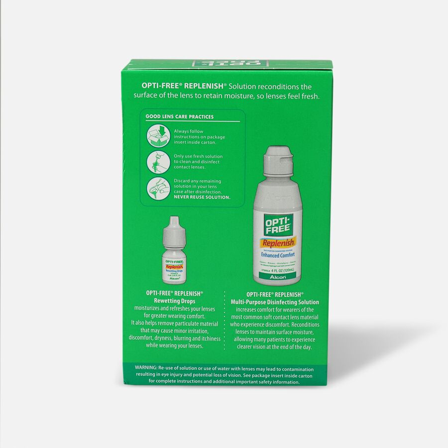 Opti-Free RepleniSH Convenience Pack, 1 ea, , large image number 1