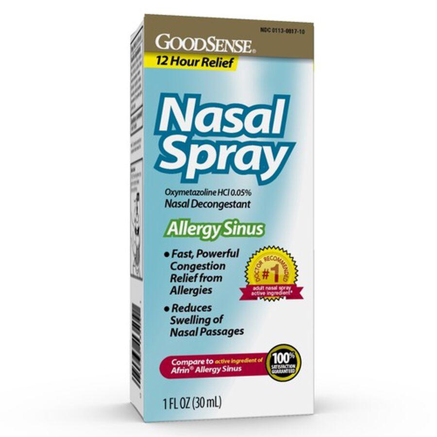 GoodSense® Nasal Spray Sinus 12 Hour 1 Oz, , large image number 0