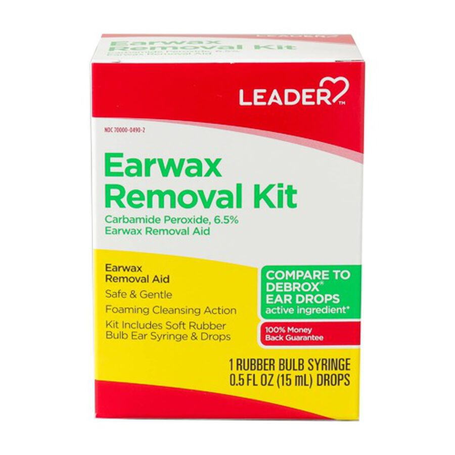 LEADER™ Ear Drops Wax Removal Kit, , large image number 0