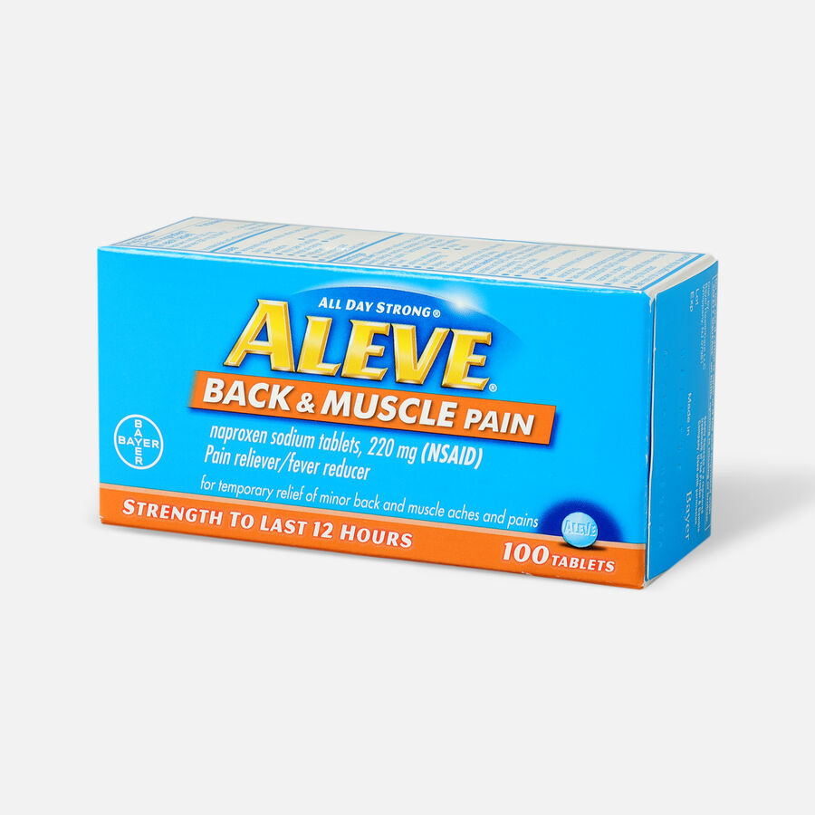 Aleve Back & Muscle Pain, 100ct, , large image number 2