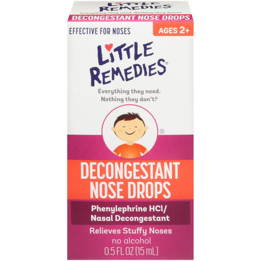 Little Noses Decongestant Drops, 0.5 oz, , large image number 0
