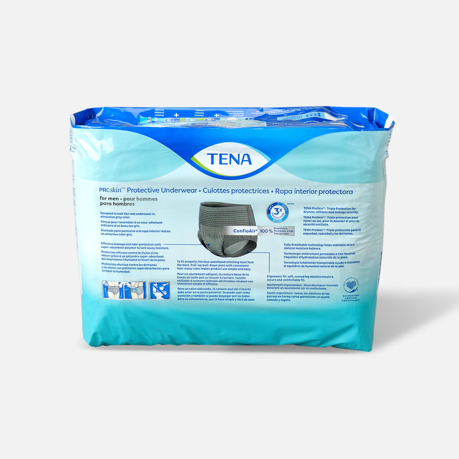 TENA ProSkin™ Protective Incontinence Underwear for Men, Maximum Absorbency, Small/Medium, 20 Count, , large image number 1