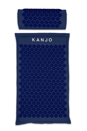 Kanjo Memory Foam Acupressure Mat Set, Navy Blue