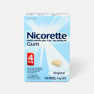 Nicorette Gum Original, 4mg, 110 ct