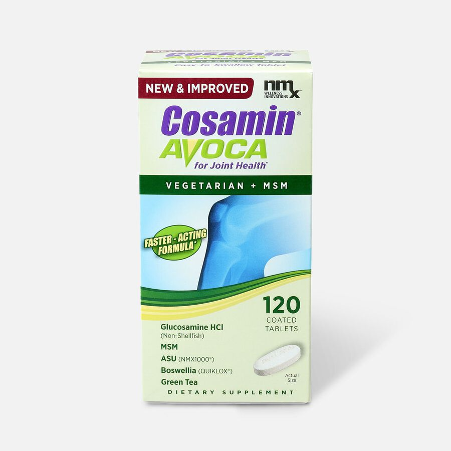 Cosamin Avoca Vegetarian Joint Health Tablets, 120 count, , large image number 0