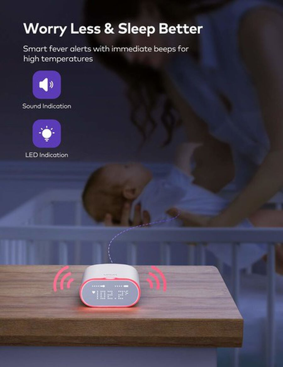 VAVA Smart Baby Thermometer, , large image number 9