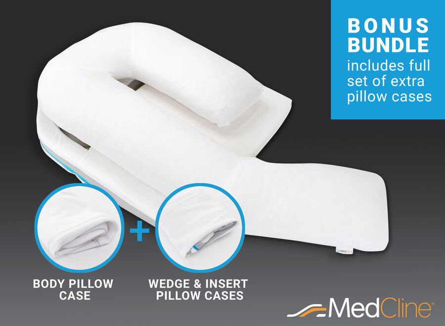 MedCline Shoulder Relief System + Extra Cases Bundle, One Size, , large image number 2