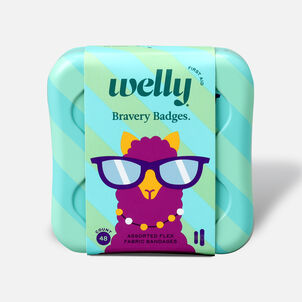 Welly Bravery Badges Peculiar Pets Assorted Flex Fabric Bandages - 48ct