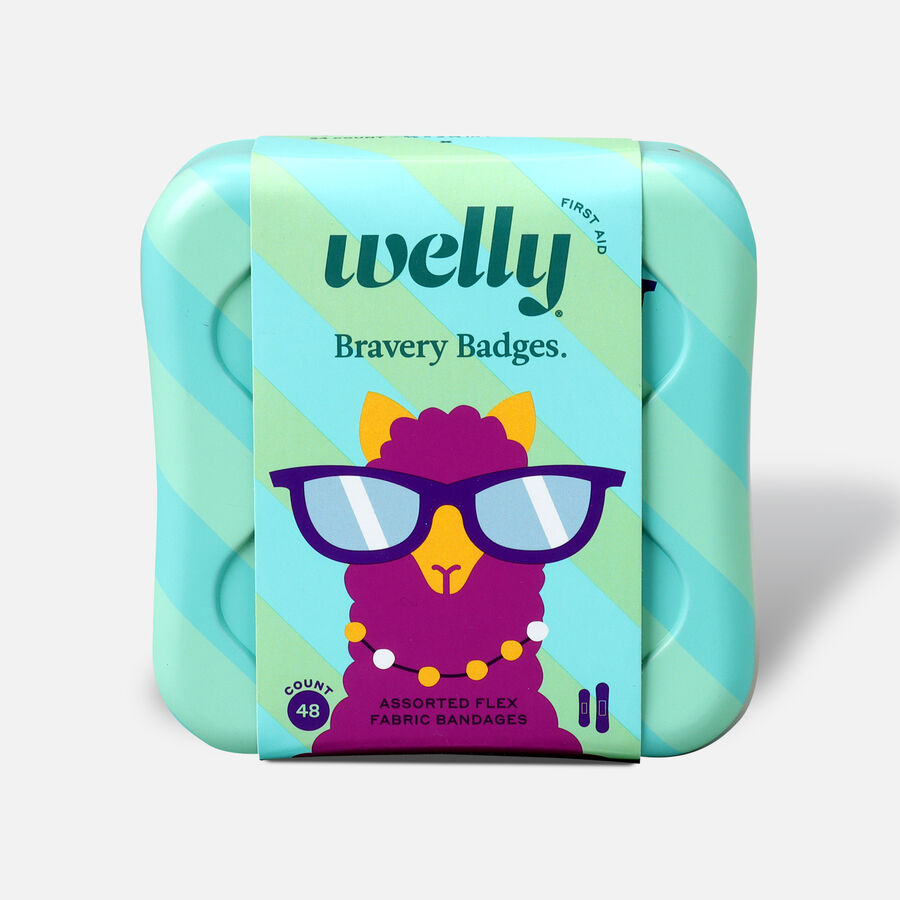 Welly Bravery Badges Peculiar Pets Assorted Flex Fabric Bandages - 48ct, , large image number 0