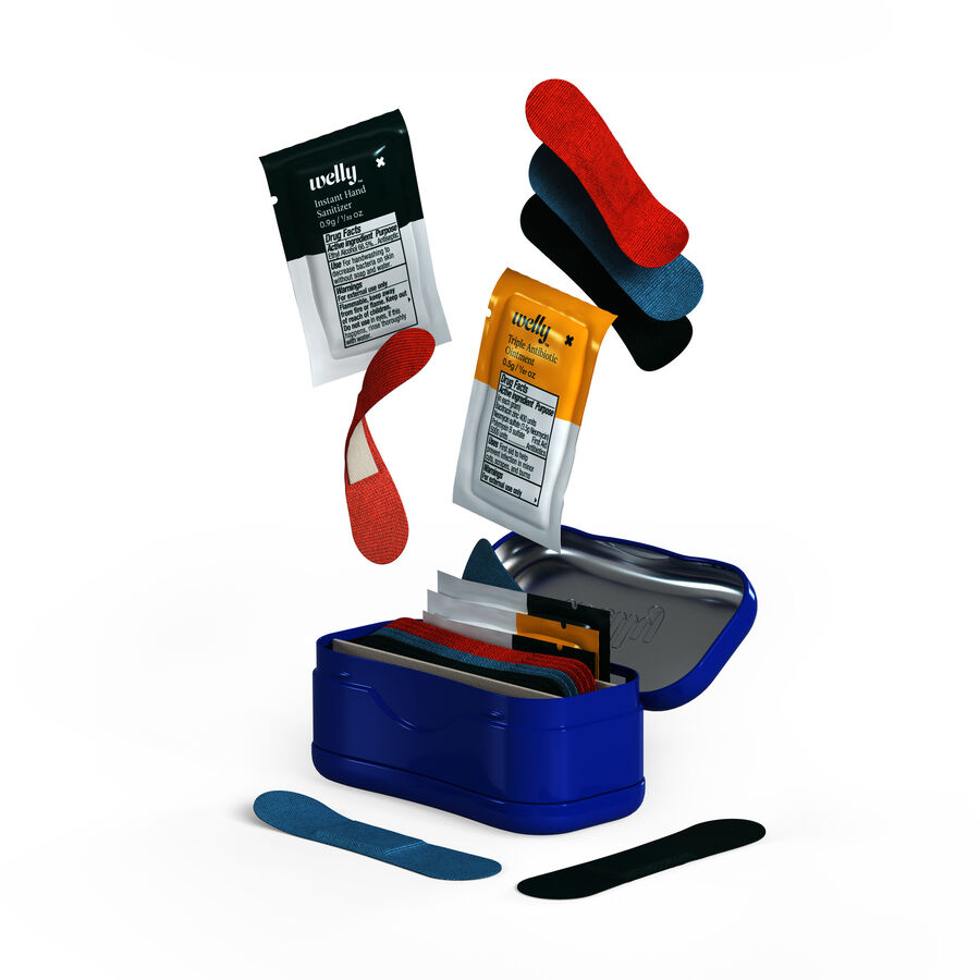 Welly Quick Fix Kit First Aid Travel Kit - 24ct, , large image number 1