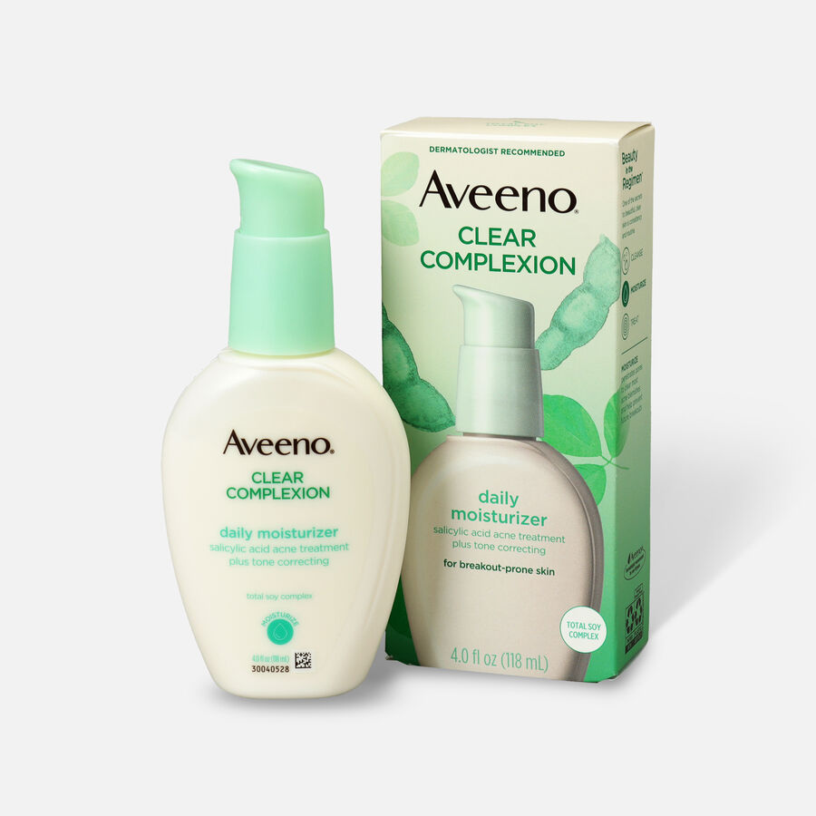 Aveeno Clear Complexion Face Moisturizer, 4oz, , large image number 0