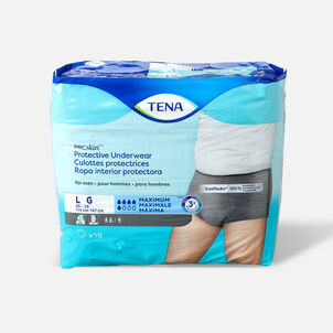 TENA ProSkin™ Protective Incontinence Underwear for Men, Maximum Absorbency, Large, 18 Count