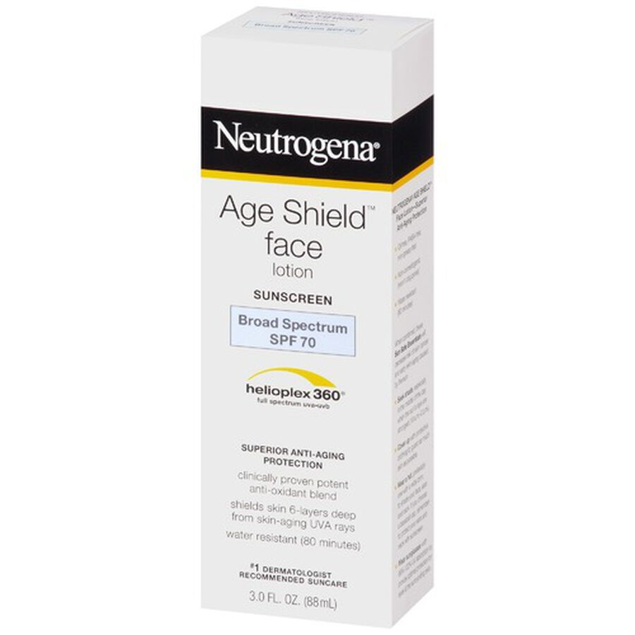 Neutrogena Age Shield Face Sunscreen with SPF 70, 3 oz, , large image number 3