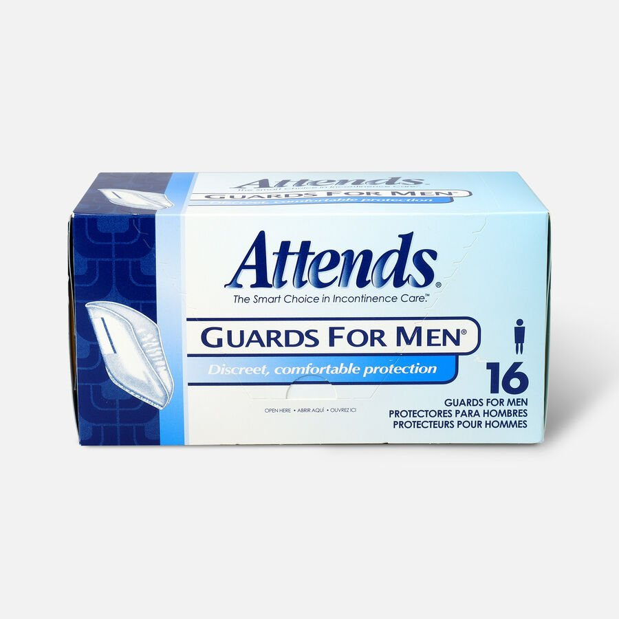Attends Guard for Men (Box of 16), , large image number 0
