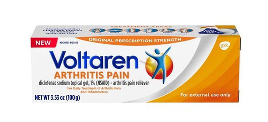 Voltaren Arthritis Pain Gel, 3.53 oz, , large image number 0
