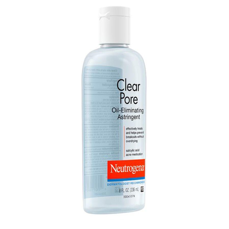 Neutrogena Clear Pore Oil-Eliminating Astringent, 8oz., , large image number 5