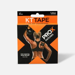 KT Tape Pro X 15 ct Black