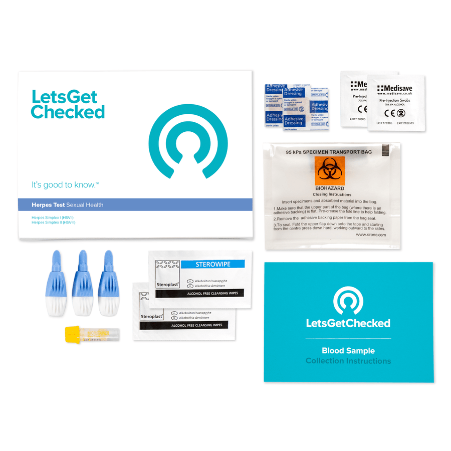 LetsGetChecked At Home Herpes Test, , large image number 2