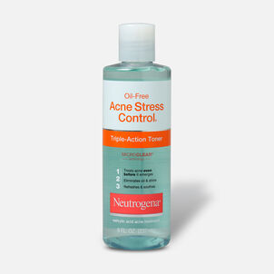 Neutrogena Oil-Free Acne Stress Control Triple-Action Toner, 8oz.