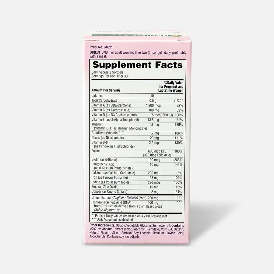 Optimal Solutions Healthy Mom Prenatal Multi Softgels, 60 Ct, , large image number 1