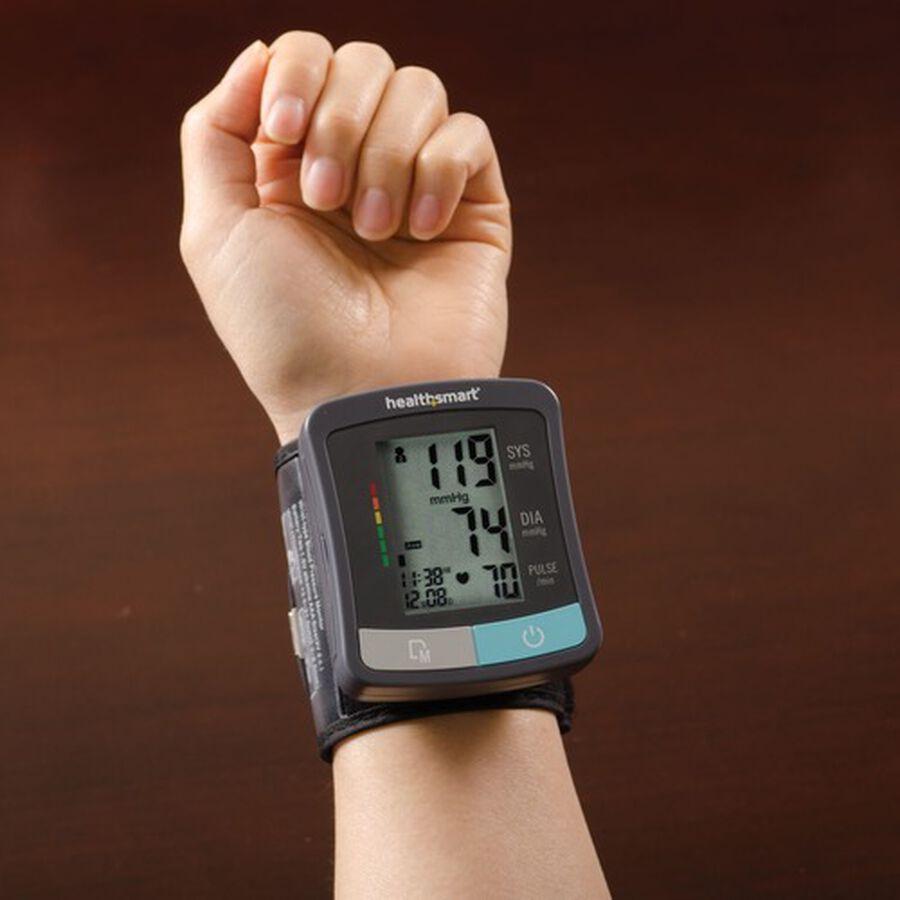 HealthSmart Standard Series LCD Wrist Digital Blood Pressure Monitor, , large image number 6