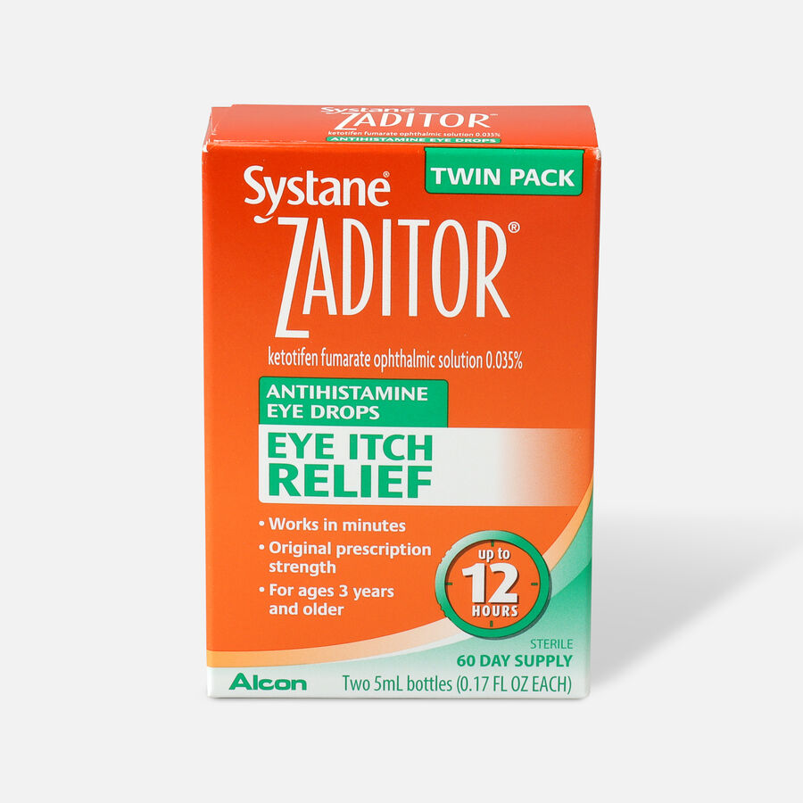 Systane Zaditor Eye Drops, Twin Pack, , large image number 0