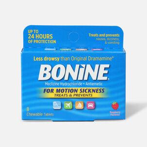 Bonine Adult for Motion Sickness, 8 ct