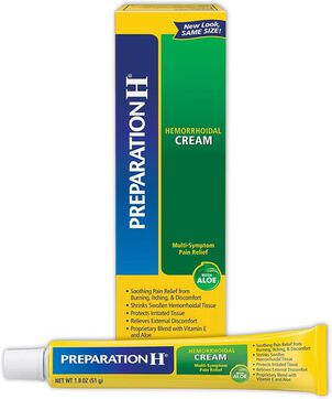 Preparation H Multi-Symptom Pain Relief Cream with Aloe, 1.8 oz